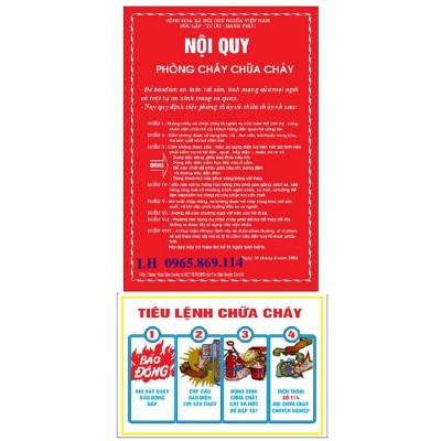 Mua bán bộ nội quy tiêu lệnh tại Vĩnh Phúc - giá rẻ - uy tín - đảm bảo chất lượng hotline 0965 869 114
